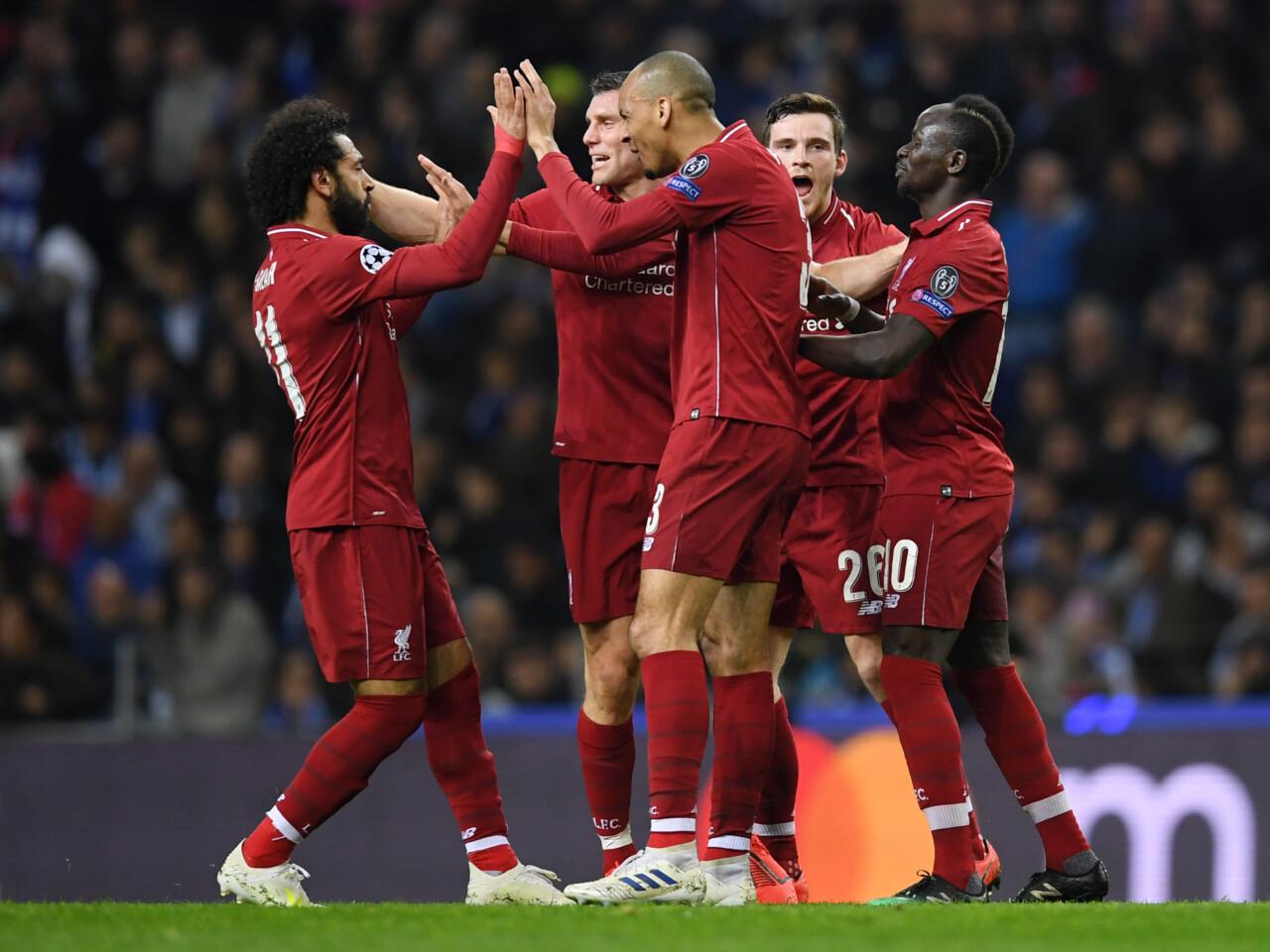 Champions League Schmeichelhaftes 4 1 Von Liverpool In