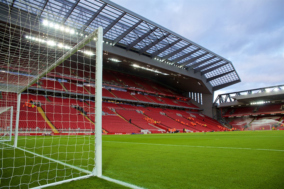 Anfield Main Stand Liverpool - Redmen Family Germany Liverpool Fanclubs Deutschland